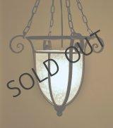 【SCHNEIDER】シュネデール 霜降りガラスの吊灯
