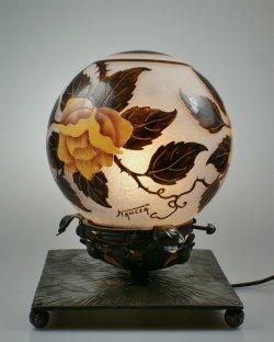 画像3: 【NANCEA】ナンセア 黄色い薔薇のテーブルランプ