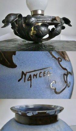 画像5: 【NANCEA】ナンセア 黄色い薔薇のテーブルランプ