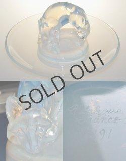 画像3: 【LALIQUE】ルネ・ラリック RENARD 灰皿またはリングトレー