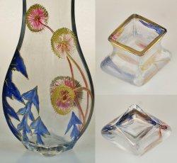 画像4: タンポポ文エナメル彩花瓶