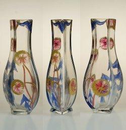 画像2: タンポポ文エナメル彩花瓶