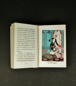 画像1: 【BARBIER】バルビエ オリジナル挿絵豆本『ギルランド・デ・モワ』1921年