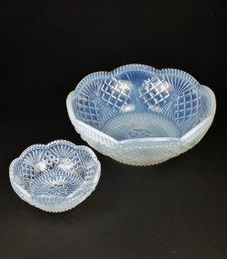 画像2: オパルセントガラスのデザートセット