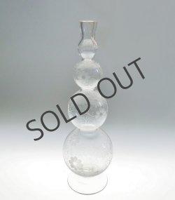 画像1: 4連バブル型花瓶