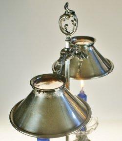 画像3: デスクランプ型2灯式キャンドルスタンド