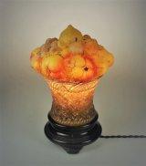 フルーツバスケット型テーブルランプ