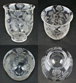 画像2: 【BACCARAT】バカラ Roses 花瓶 (小)