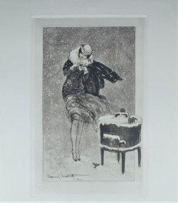 画像1: 【ICART】イカール 『コールドロン』オリジナル銅版画