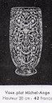 画像4: 【BACCARAT】バカラ Michelangelo 偏壺型花瓶 (4)