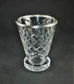 画像1: 【ST-LOUIS】サン・ルイ Diamantsカット花瓶