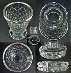画像3: 【ST-LOUIS】サン・ルイ Diamantsカット花瓶
