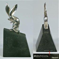 画像4: 【RISCHMANN】ブロンズ彫刻 兎のブックエンド