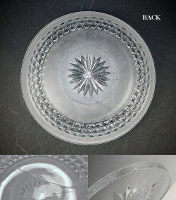 画像3: 【BACCARAT】バカラ Diamants hexagones dépolis 浅鉢