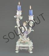 画像: 【VOLKSTEDT】フォルクシュテット フィギュア付き飾り燭台