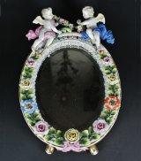 画像: 【SITZENDORF】ジッツェンドルフ 天使と花の鏡